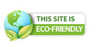 Eco-Friendly Logo, We are a green site!