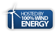 Wind Energy Logo, We are a green site!